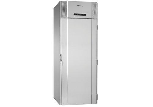 Gram Gram Edelstahl-Roll-in-Kühlschrank mit Tiefenkühlern 1422 Liter