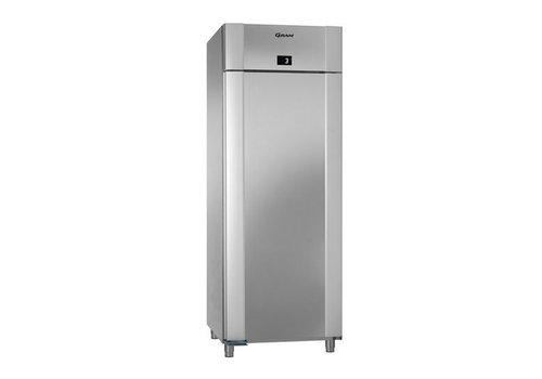 Gram Edelstahl-Tiefkühlung Einzeltür 2/1 GN | 614 Liter