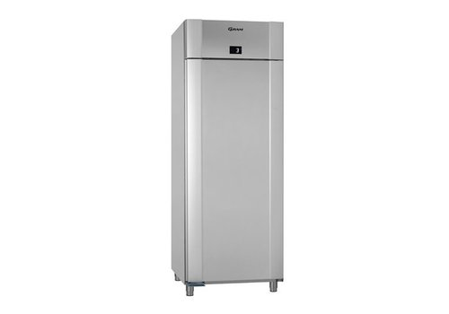 Gram Stainless steel / vario silver depth cooling single door 2/1 GN