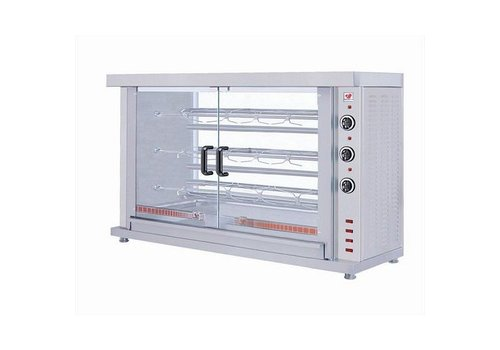 Combisteel Chicken Grill Electric 3 Spits