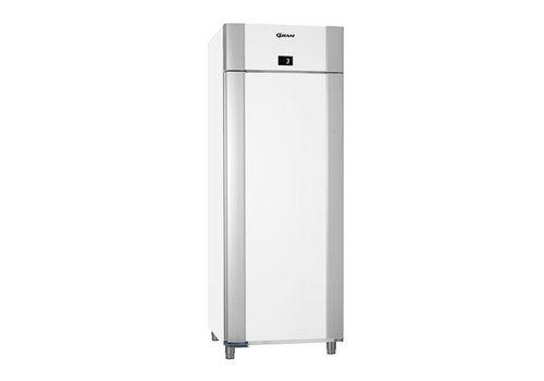 Gram Tiefkühltür aus Edelstahl, weiß 2/1 GN | 614 Liter