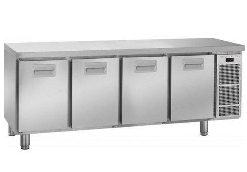Gram Gram snowflake refrigerated workbench 4 doors | 495 liters