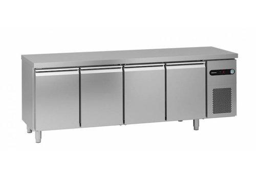 Gram Gram snowflake / hoshizaki refrigerated workbench | 4 doors | 625 liters