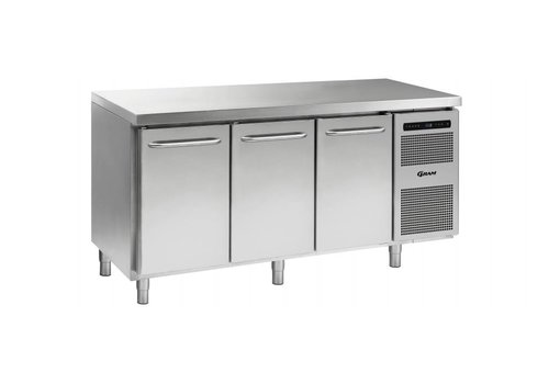 Gram Gram Gastro refrigerated workbench 3 doors | 506 liters