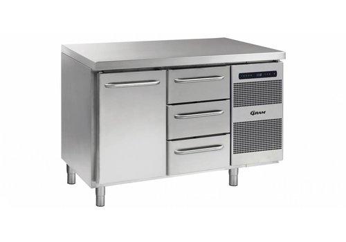 Gram Gram Gastro refrigerated workbench 1 door 3 drawers