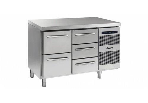 Gram Gram Gastro Kühlwerkbank 1 x 2 Schubladen Laden Sie 1 x 3