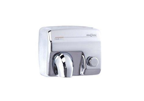 Mediclinics High gloss Handdryer Saniflow button E88C