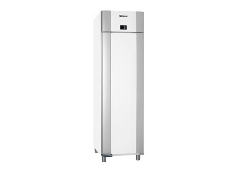 Gram Tiefkühltür aus Edelstahl, weiß