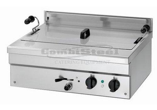 Combisteel Professionelle elektrische Fritteuse - 1 x 21 Liter - 6,8 kW
