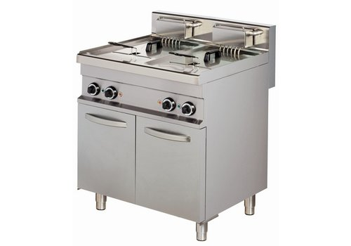 Combisteel Professional fryer with base - 2 x 10 liters