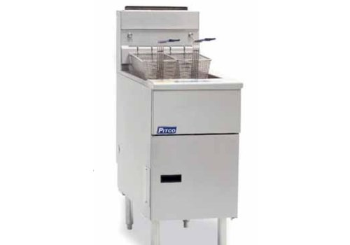 Pitco SG 14 s Professional gas fryer 23 liters