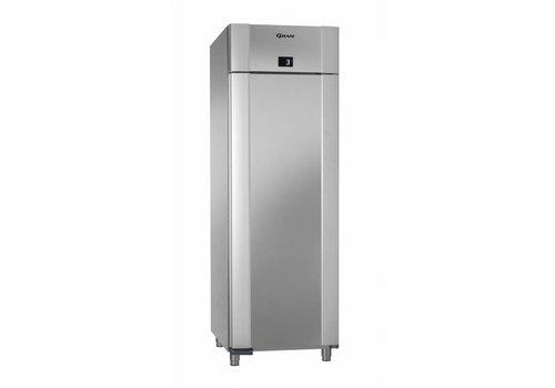 Gram Gram Edelstahl-Kühlschrank mit Tiefkühl | 610 Liter