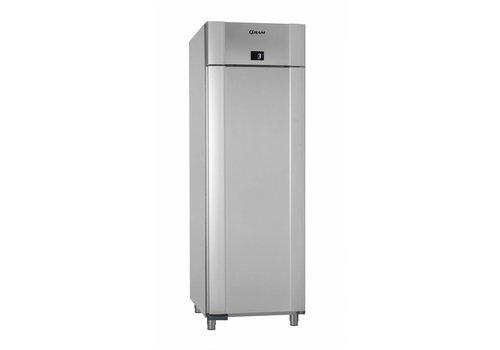 Gram Gram Edelstahl Kühlschrank Einzelne Tür | 610 Liter - Vario Silber