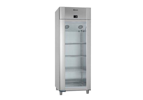 Gram Kühlschrank Glastür Edelstahl 230V   614 Liter