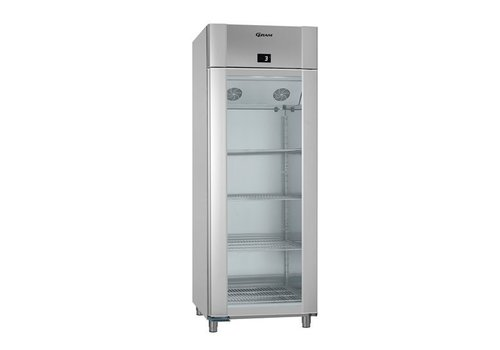 Gram Refrigerator Glass Door Stainless steel 230V | 614 liters