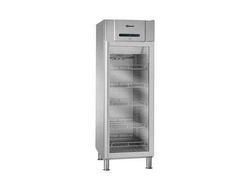 Gram Edelstahl Kühlschrank Glastür 230 Volt   583 Liter