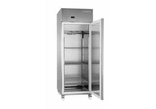 Gram Gram Einfachtür-Gefrierschrank aus Edelstahl 594 Liter