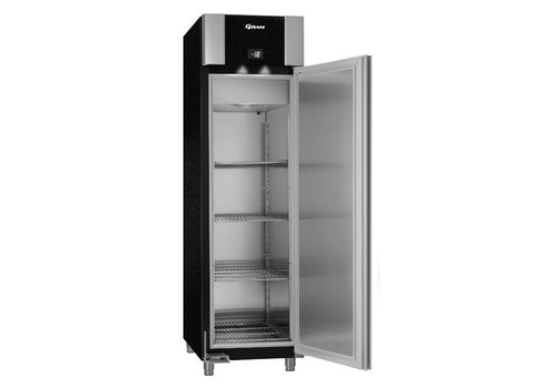 Gram Gram Stainless Steel Freezer Euro Standard Black | 465 liters