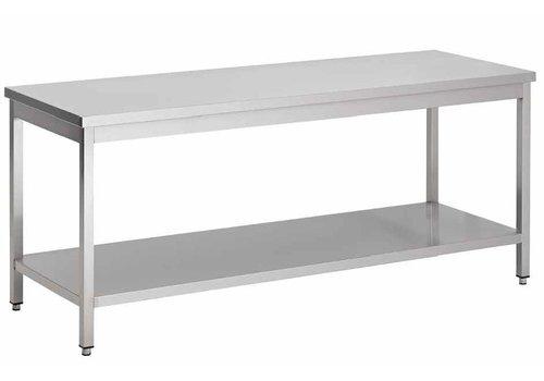 Combisteel RVS Werktafel | RVS 304 | 3 Formaten