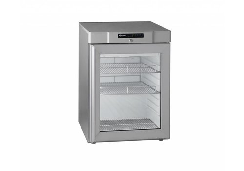 Gram Horeca Kühlschrank 230Volt RVS Einzeltür   125 Liter