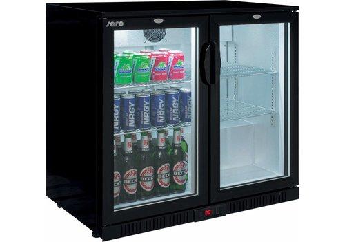Saro Backbar Kühlschrank - 2 Tür - 2 Jahre Garantie