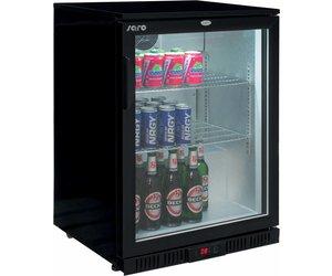 Kühlschrank Hoch : Saro 1 türen black bottle kühlschrank 85 cm hoch schnell und