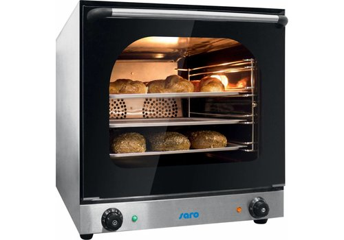 Saro Hot air oven with 4 baking cans 435 x 315 mm