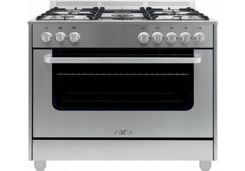 Saro RVS Multifunctional Cooker Gas Oven | 5 pits