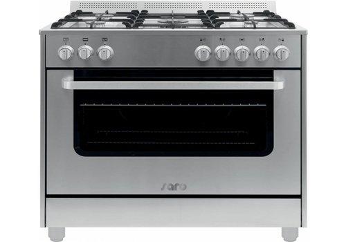 Saro Rvs Multifunctionele Kooktoestel Gas Oven | 5 Pits
