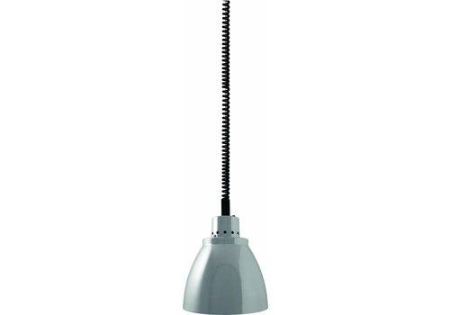 Saro Adjustable Heat Lamp   Silver