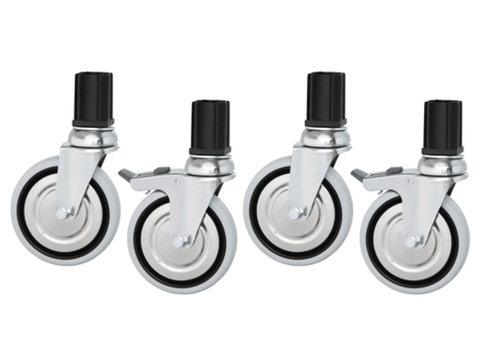 Bartscher Swivel wheel set (4 pieces)