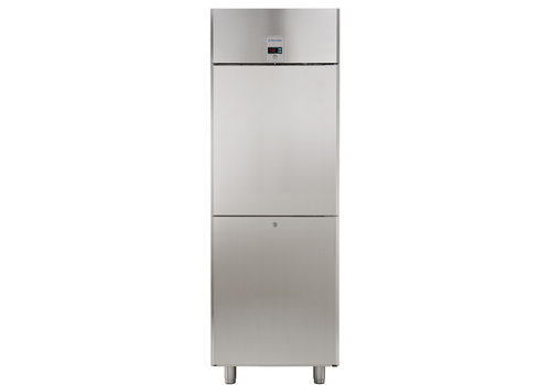 Electrolux Professional Stainless steel freezer 670 liter - 2 half door