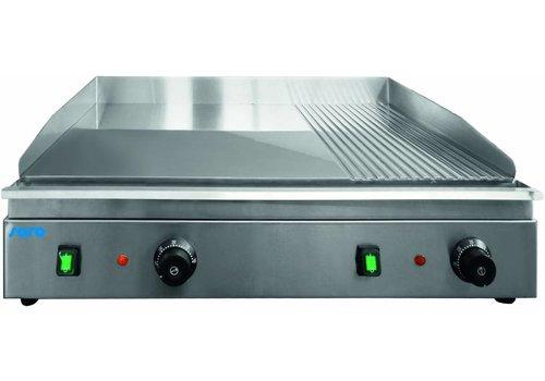 Saro Elektrische Grillplatte | Rostfreier Stahl 34 kg | 230 Volt