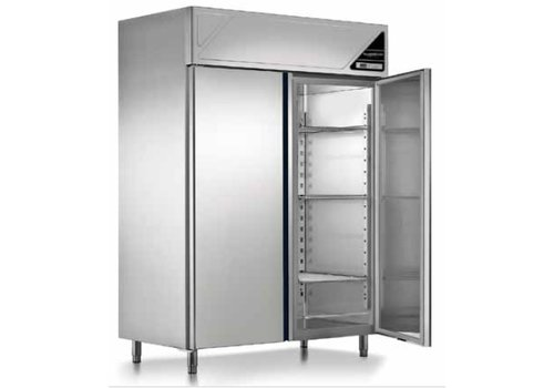Combisteel Freezer 2 doors Ventilated 1140 Liter 144x70x206 cm (WxDxH)