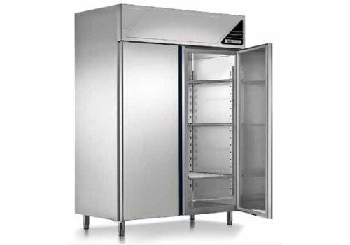 Combisteel Gefrierschrank 2 Türen Belüftete 1140 Liter 144x70x206 cm (BxTxH)