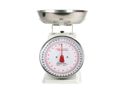 HorecaTraders Kitchen Scale Removable 5/10/20 kg