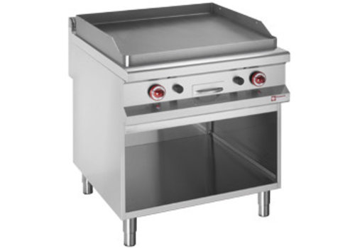 Diamond Baking tray | Gas | Flat baking tray | Open closet