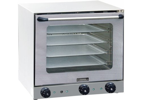 Casselin Convection oven with steam injection - 597x618x570mm
