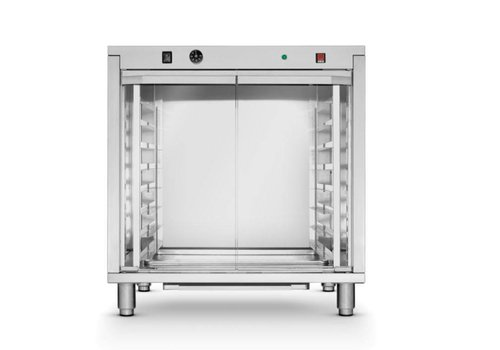 Hendi Rijskast RVS | 8x 600x400mm