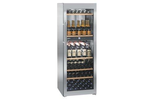 Liebherr WTpes5972-20 | Wijnklimaatkast RVS 155 Flessen | Liebherr