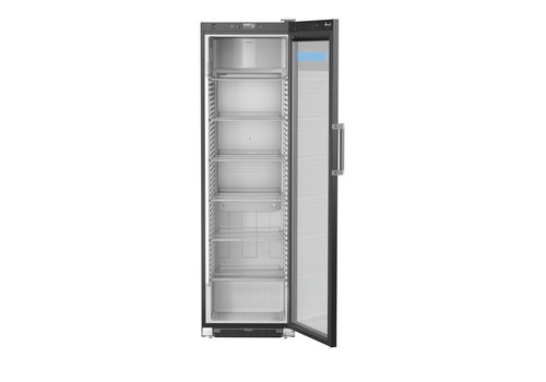 Liebherr FKDv 4523 Display Refrigerator Black Steel | Glass door