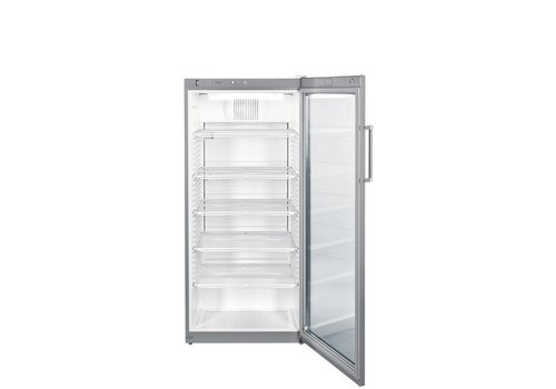 Liebherr FKvsl5413 | Refrigerator with a glass door Gray 572 L | Liebherr