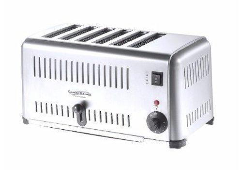 HorecaTraders Toaster | 6 cuts