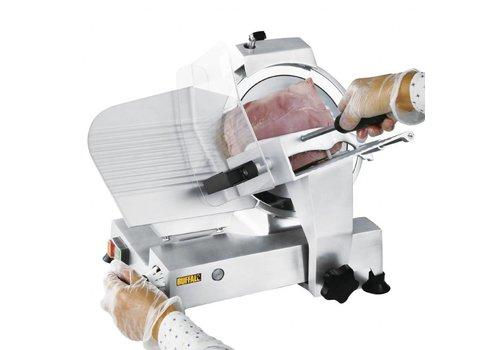 Buffalo Proffesionele Vleessnijmachine 25 cm |Instelbaar snijdikte
