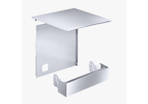 Miele Professional Conversion kit for freestanding model stand - stainless steel
