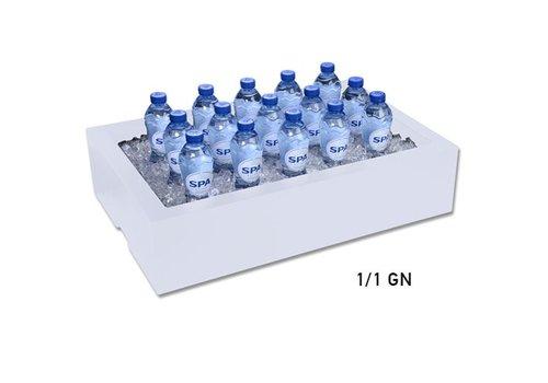 HorecaTraders Zerstoßenes Eis gastro standard bake b 40,2 xd 59 xh 17 cm