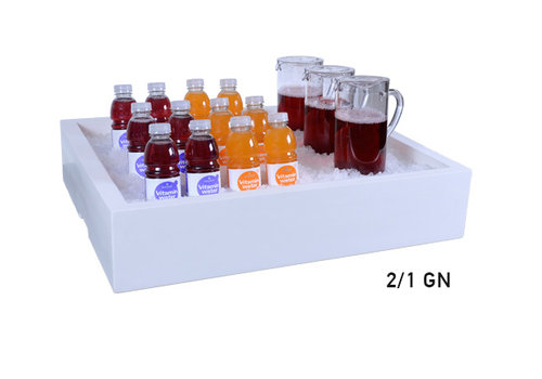 HorecaTraders Zerstoßenes Eis gastro standard bake b 72,2 xd 59 xh 17 cm