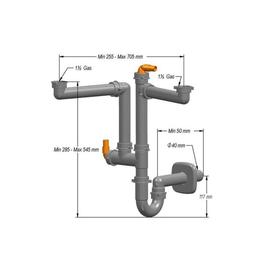 Sifon for SIF-102 sinks