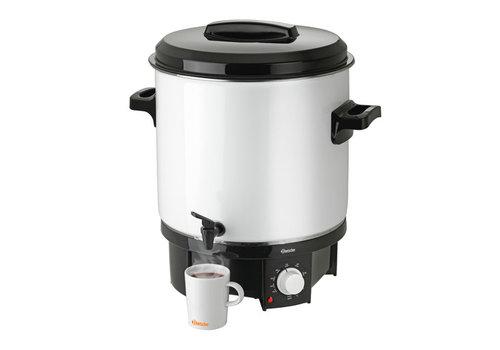 Bartscher Silberner Glühweinspender 21 Liter