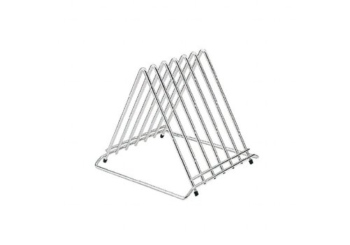 Hygiplas Stainless Steel Cutting Board Racks | 3 formats Max. 30mm Thick